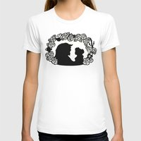 beauty and the beast T-shirts featuring Beauty and the Beast  by eileenlim