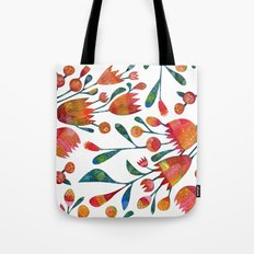 Buds and Flowers Tote Bag