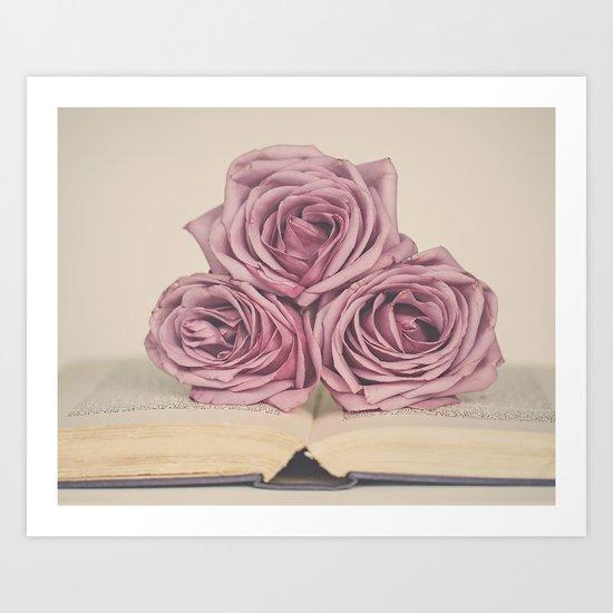 Storybook Love Art Print