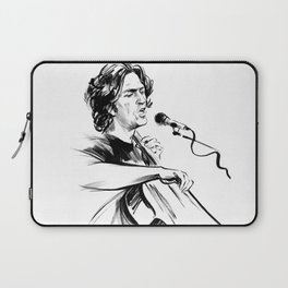 А man who sings and plays the cello Laptop Sleeve