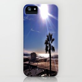 "Hermosa Beach ""Just Another Day"" iPhone Case"