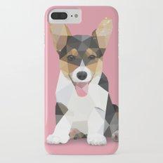 Low Poly Corgi. Slim Case iPhone 7 Plus