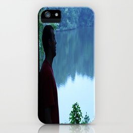 Soul Searching Reflections iPhone Case