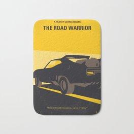 No051 My Mad Max 2 Road Warrior minimal movie poster Bath Mat