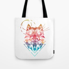 Spirit of the Wolf Tote Bag