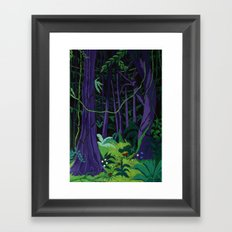 La Foresta Tropicale (Tropical Forest) Framed Art Print