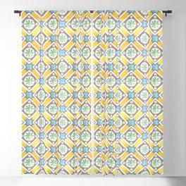 Floor Series: Peranakan Tiles 64 Blackout Curtain