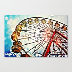 Carnival Ferris Wheel Canvas Print