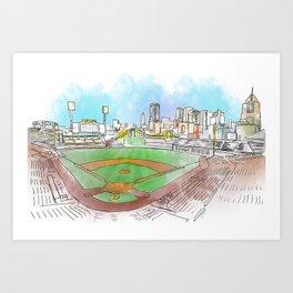 PNC Park Art Print