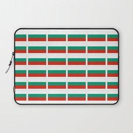 flag of bulgaria -bulgarian, България,български,slav,cyrillic,Sofia,bulgaria Laptop Sleeve