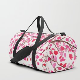 Rain of Cherry Blossom Duffle Bag