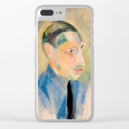 Igor Stravinsky (1882 – 1971) by Robert Delaunay in 1918 Clear iPhone Case