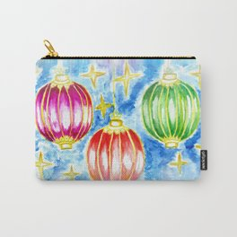 Three oriental lanterns Carry-All Pouch