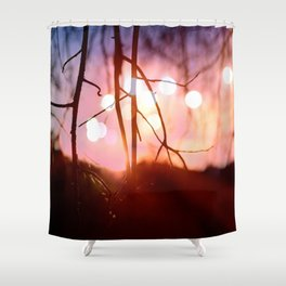 Invigorating Lights I Shower Curtain
