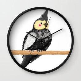 Cacatua Wall Clock