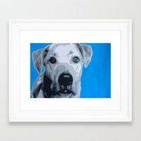 jack white Framed Art Prints featuring Jack by retnemrapS