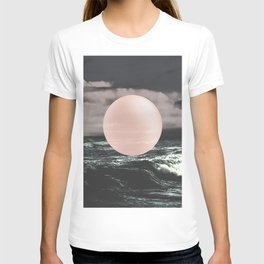 Marble Moon waves T-shirt