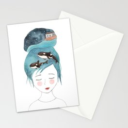 Magic in my head Stationery Cards