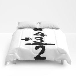 6 4 3 2 Double Play Comforters