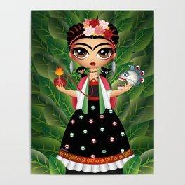 Little Frida Poster
