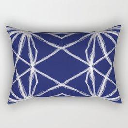Shibori Freestyle Tie Dye - Rasha Stokes Rectangular Pillow