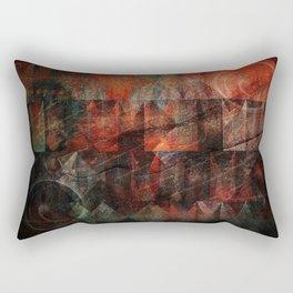 Raw Emotions Rectangular Pillow