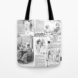 Pride and Prejudice - Pages Tote Bag