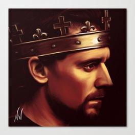 Henry V - Tom Hiddleston 'Hollow Crown' Canvas Print