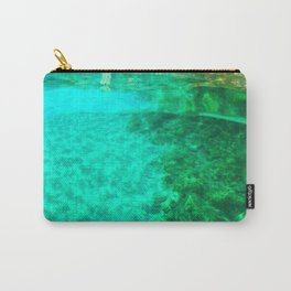 green waters  Carry-All Pouch