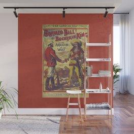 Buffalo Bill Wall Mural