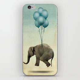 Levitating Elephant iPhone Skin