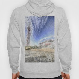 West Ham Olympic Stadium And The Arcelormittal Orbit Snow Hoody