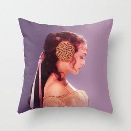 Padme Amidala Throw Pillow