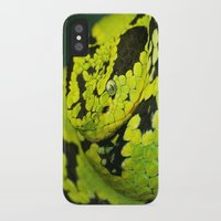 snake iPhone & iPod Cases featuring SNAKE by Ylenia Pizzetti