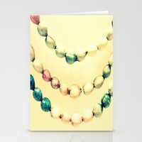 pastel Stationery Cards featuring pASTel Vintage Beads by 2sweet4words Designs