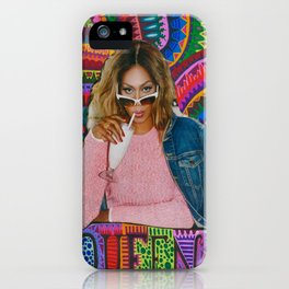Laverne Cox iPhone Case