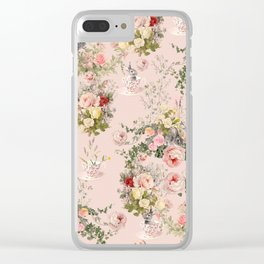 Pardon Me There's a Bunny in Your Tea Clear iPhone Case