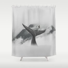 Kindred Spirit VIII Shower Curtain