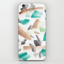 180719 Koh-I-Noor Watercolour Abstract 39  Watercolor Brush Strokes iPhone Skin