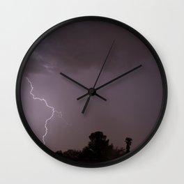 Lightning's Hand Wall Clock