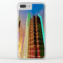 city feeling -100- Clear iPhone Case
