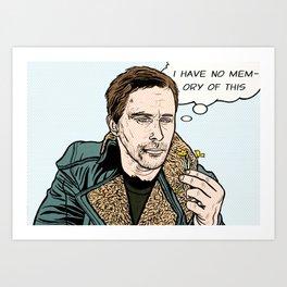 Blade Runner 2049 Pop Art Art Print