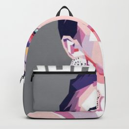 Dua lipa pop art Backpack