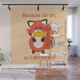 Commisions | foxy artist Wall Mural
