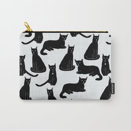 Brothers: Black cats Carry-All Pouch