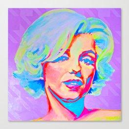 Rainbow Marilyn Canvas Print