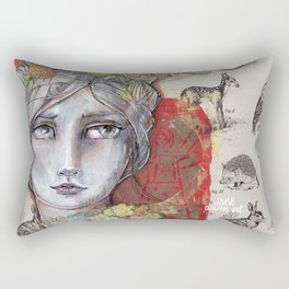 Nature Study by Jane Davenport Rectangular Pillow