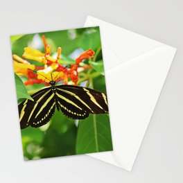 Striped Heart Stationery Cards