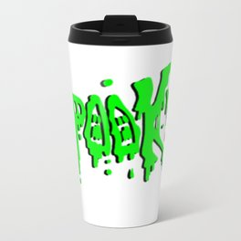 SPOOKY! logo Metal Travel Mug