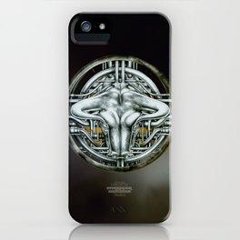 """Astrological Mechanism - Taurus"" iPhone Case"